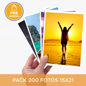 PRECOMPRA Pack 200 fotos 15x21