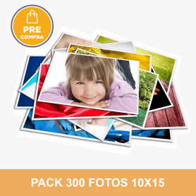 PRECOMPRA Pack 300 fotos 10x15