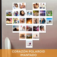 Kit Corazón Polaroid® Pack 20|34 fotos Imantadas