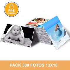 PRECOMPRA Pack 300 fotos 13x18 - Hot Price