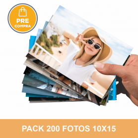 PRECOMPRA Pack 200 fotos 10x15