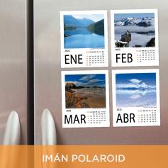 Calendario anual 2022 - Foto imán Polaroid
