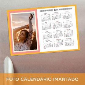 Foto calendario imantado 20x30 personalizable - 2022 - 2